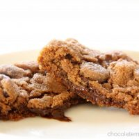 Small Batch Chocolate Chili Spice Cookies