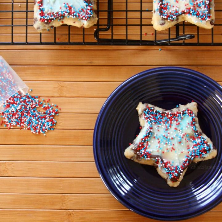 Chocolate Chip Cut-Out Cookies
