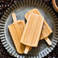 Iced Coffee Popsicles (Small Batch)