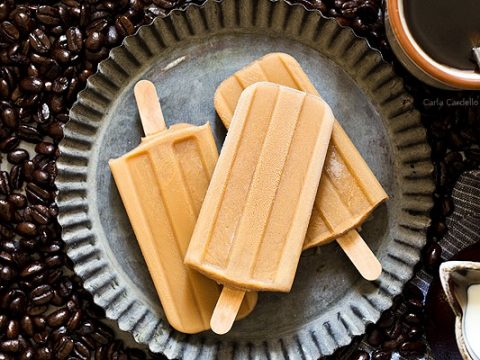Iced Coffee Popsicles (Small Batch) - Homemade In The Kitchen