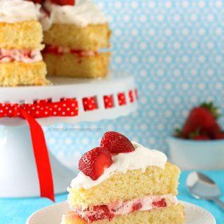 Layered Strawberry Shortcake