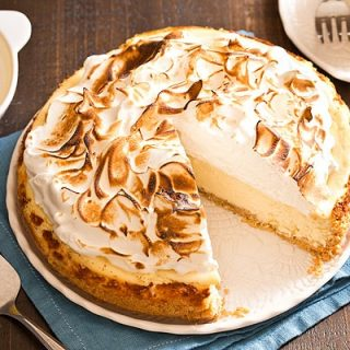 Lemon Meringue Cheesecake