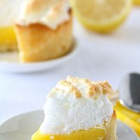 Mini Deep Dish Lemon Meringue Pies