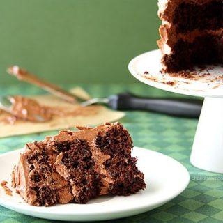 Mini Chocolate Guinness Cake For Two