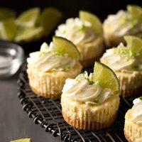 Small Batch Mini Margarita Cheesecakes