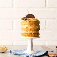 Mini Peanut Butter Layer Cake