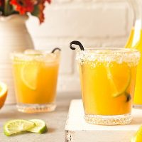 Orange Vanilla Margaritas (Small Batch)