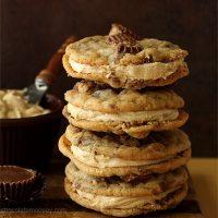 Peanut Butter Cup Sandwich Cookies