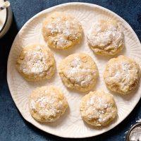 Peanut Butter Gooey Butter Cookies (From Scratch)