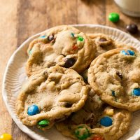 Small Batch M&M Cookies