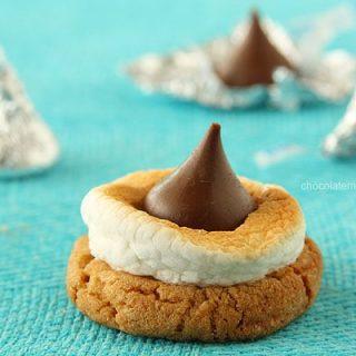 Smores Blossom Cookies