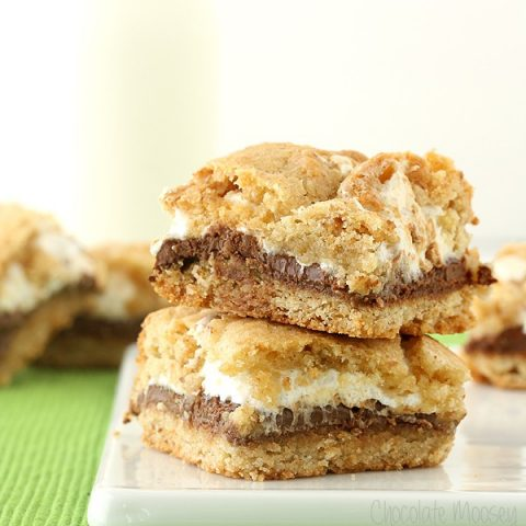 S'mores Cookie Crumb Bars