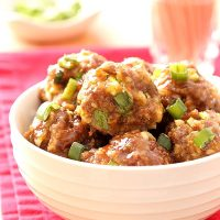 Sweet Chili Baked Meatballs