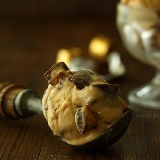 Triple Caramel Pecan Rolo Ice Cream