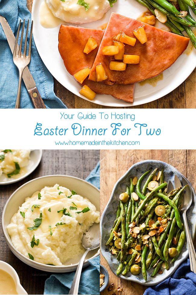 Easter Dinner For Two Menu Homemade In The Kitchen