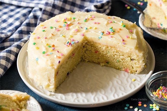 Small 6 Inch Funfetti Cake