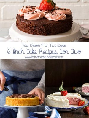 Small 6 Inch Cake Recipes For Two People (Dessert For Two Guide)