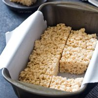 Small Batch Rice Krispie Treats