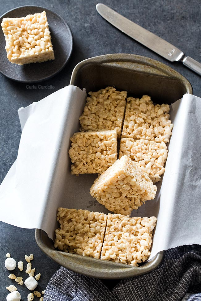 Small Batch Rice Krispie Treats for a no bake dessert