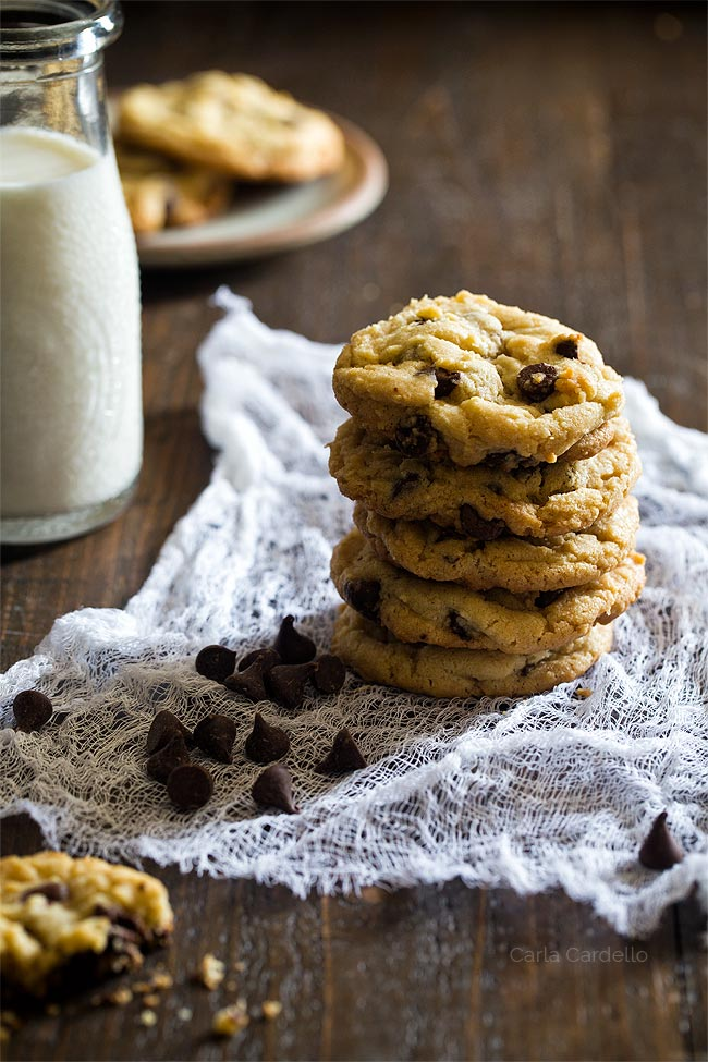 Small Batch Chocolate Chip Cookies for two