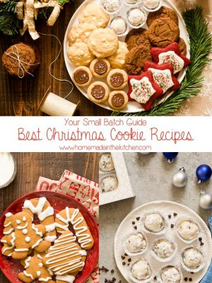 Love to bake cookies from scratch? Here are the Best Small Batch Christmas Cookie Recipes to add to your cookie tray this holiday season.