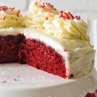Small 6 Inch Red Velvet Cake For Two