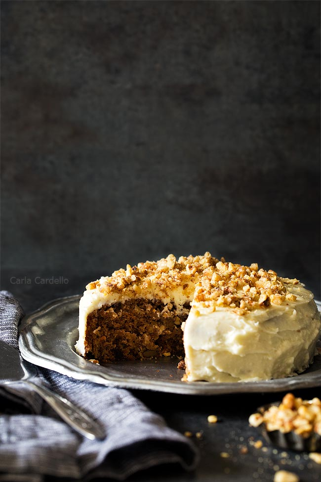 6 Inch Small Carrot Cake