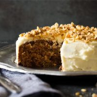 Small Carrot Cake Recipe