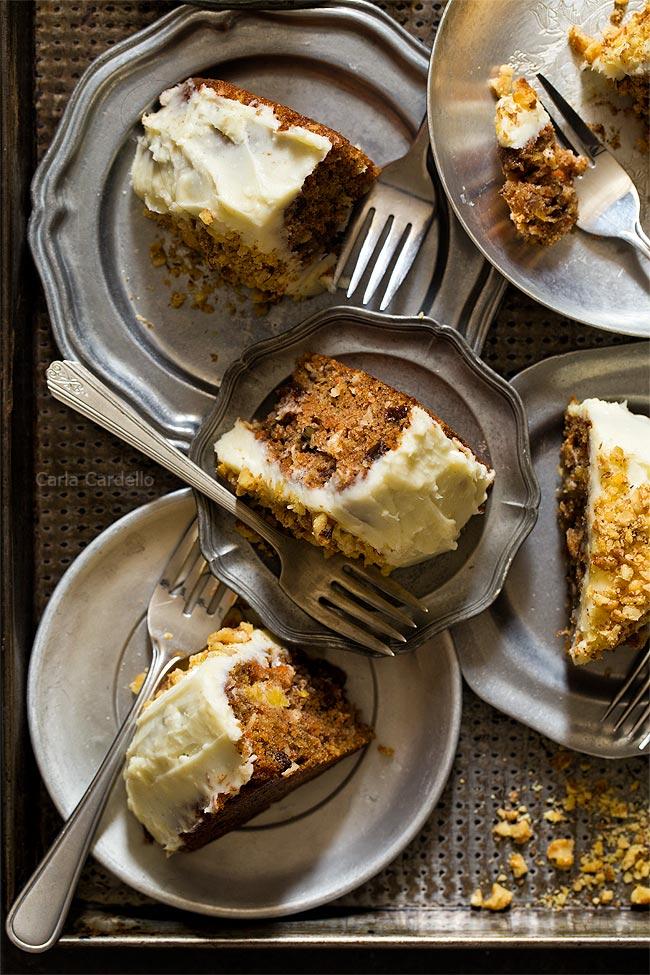 Recipe for Small Carrot Cake
