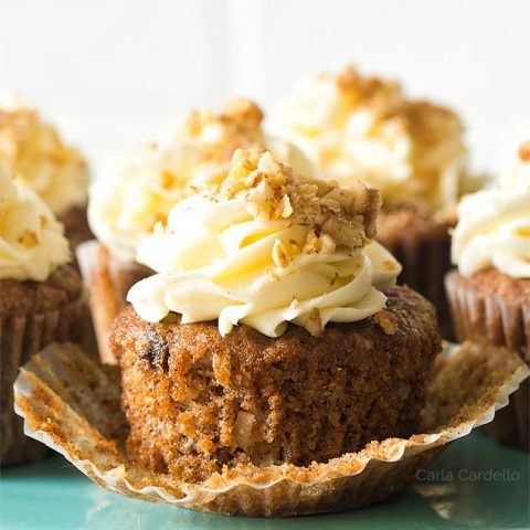 Carrot Cake Cupcakes (Small Batch)
