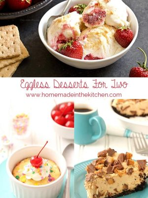 Eggless Desserts For Two