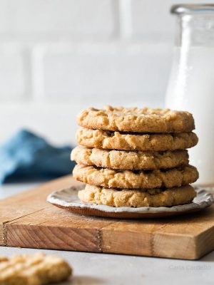 Small Batch Peanut Butter Cookie