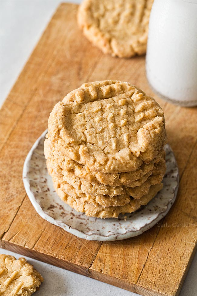 Classic Peanut Butter Cookies (Small Batch)