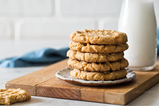 Small Batch Peanut Butter Cookies From Scratch