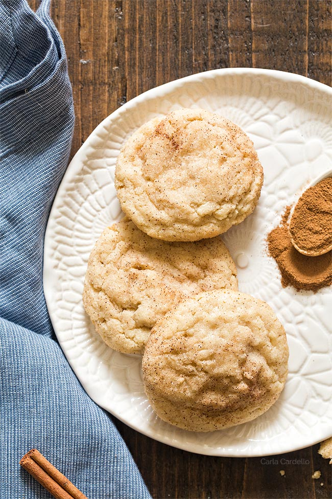 Small Batch Snickerdoodles Without Cream Of Tartar