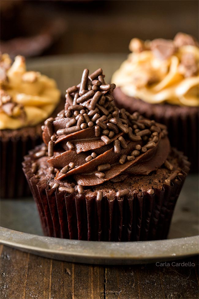 Chocolate Cupcakes From Scratch