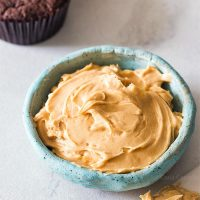 Small Batch Peanut Butter Frosting