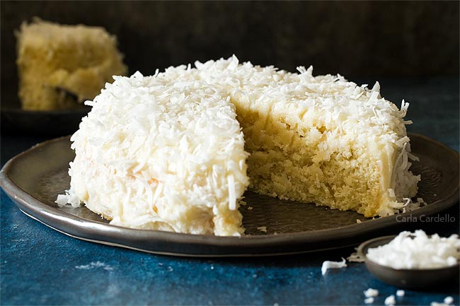 Small Coconut Cake For Two
