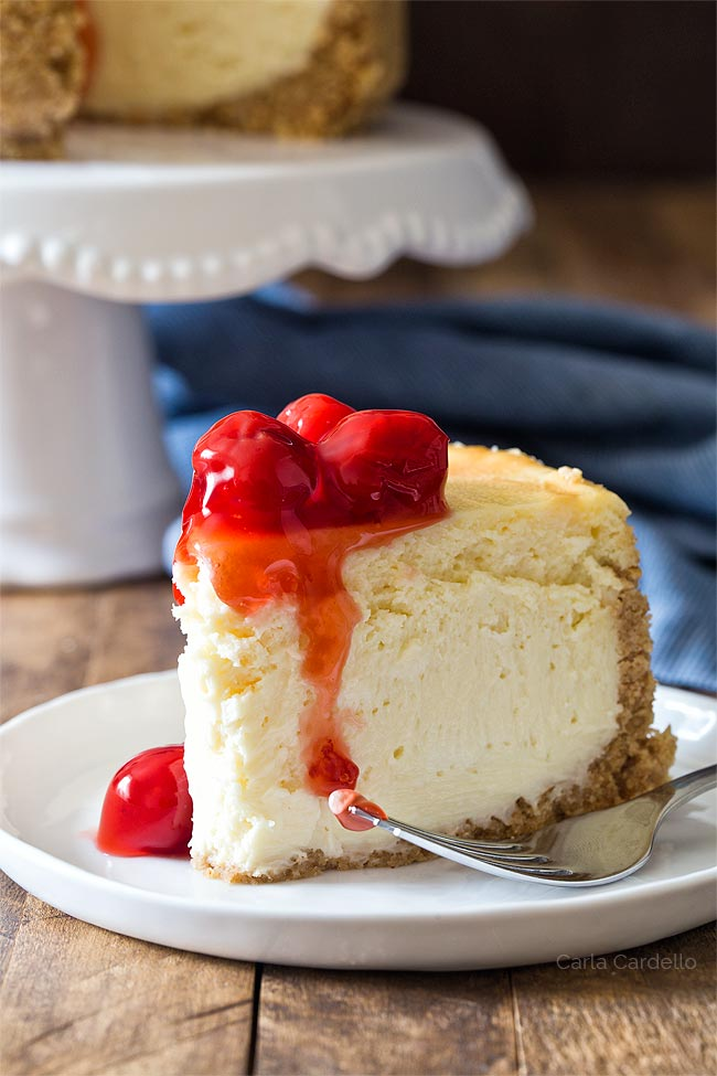 Small Cheesecake For Two