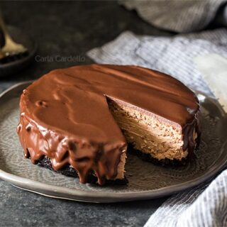 6 Inch Chocolate Cheesecake for two