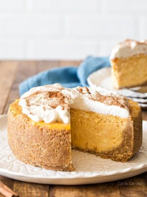 6 Inch Pumpkin Cheesecake recipe