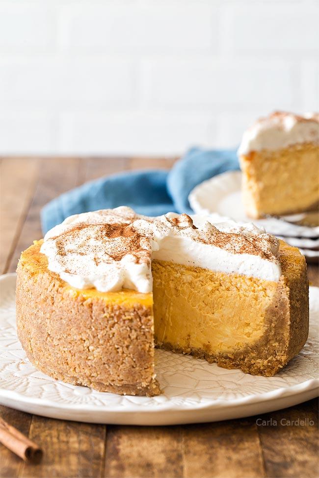 6 Inch Pumpkin Cheesecake recipe