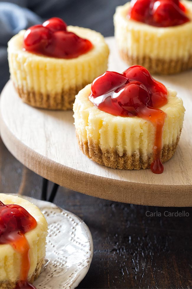 Mini Cheesecakes For Two