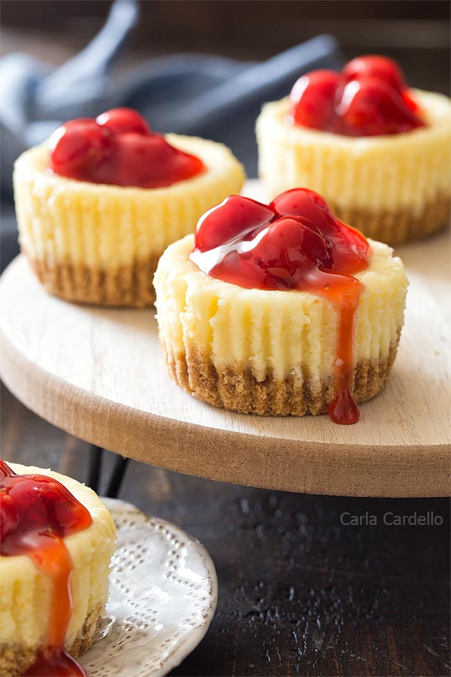 Mini Cheesecakes (Small Batch)