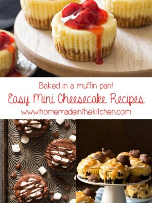 Easy Mini Cheesecake Recipes