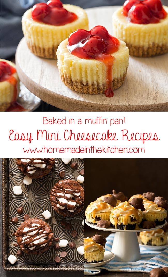 Easy Mini Cheesecake Recipes