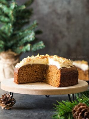 6 Inch Gingerbread Cake