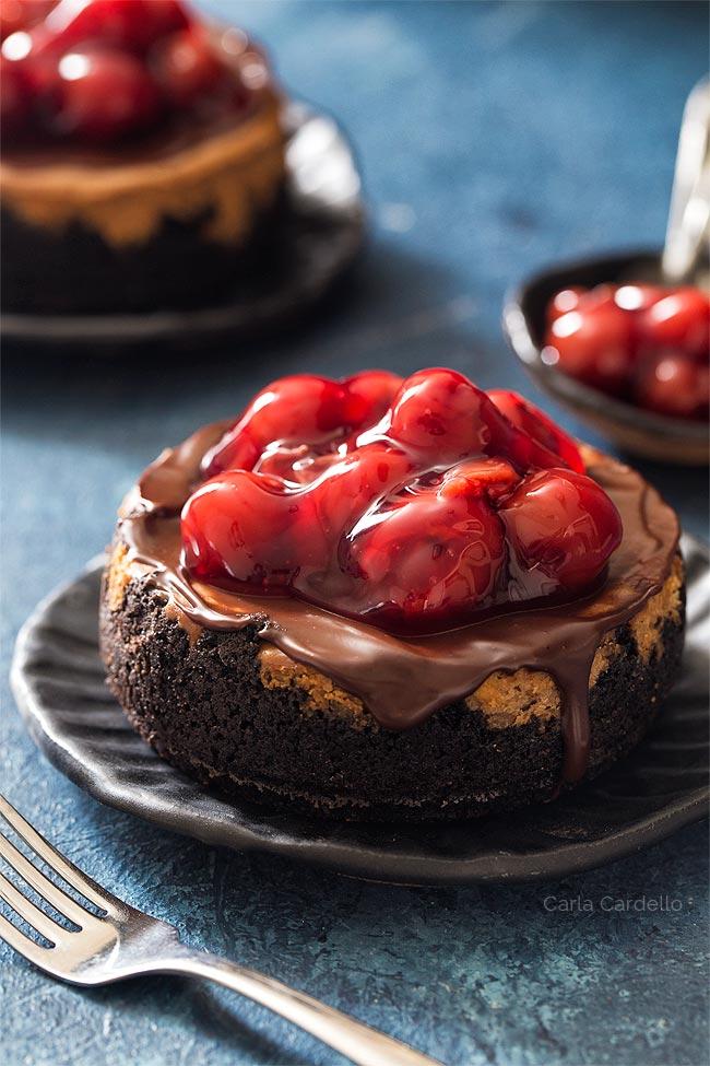 4 Inch Chocolate Cheesecake recipe
