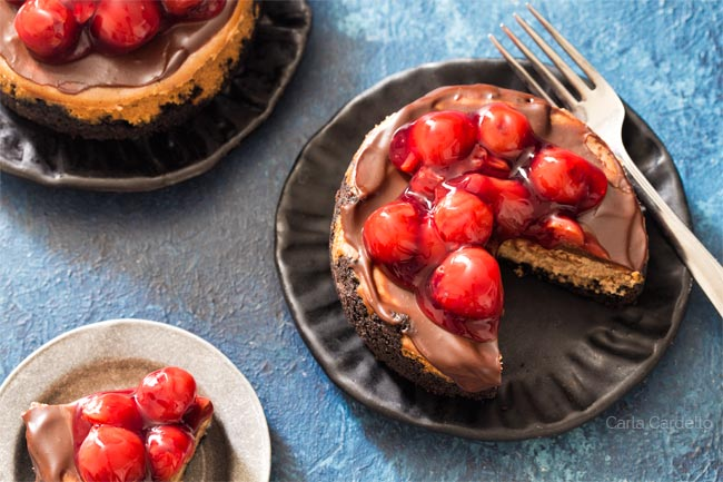 Chocolate Cheesecake For Two