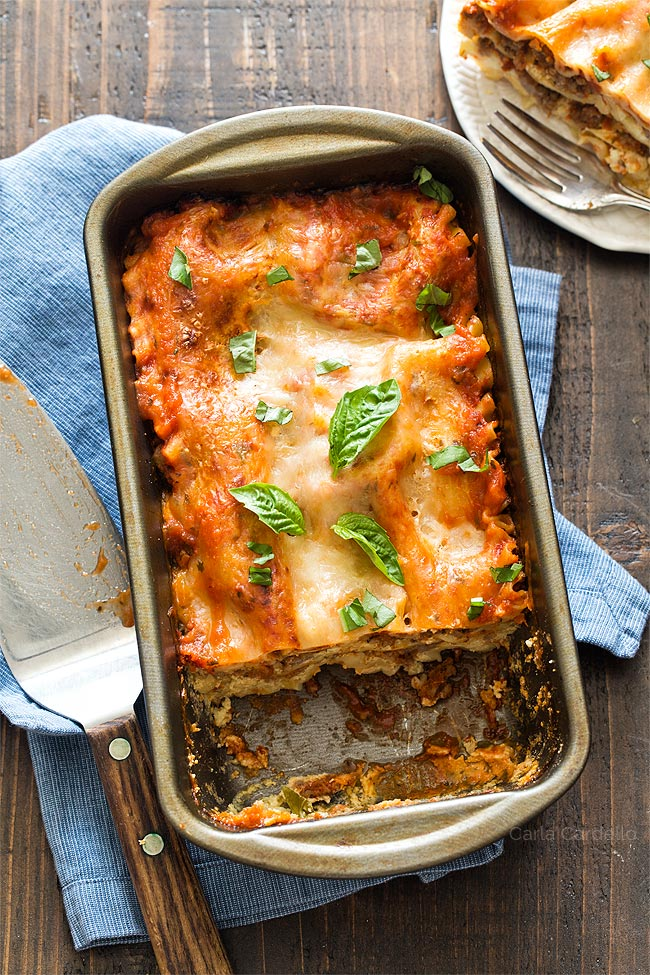 Lasagna For Two